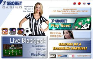 TUTORIAL BERMAIN SBOBET CASINO ONLINE